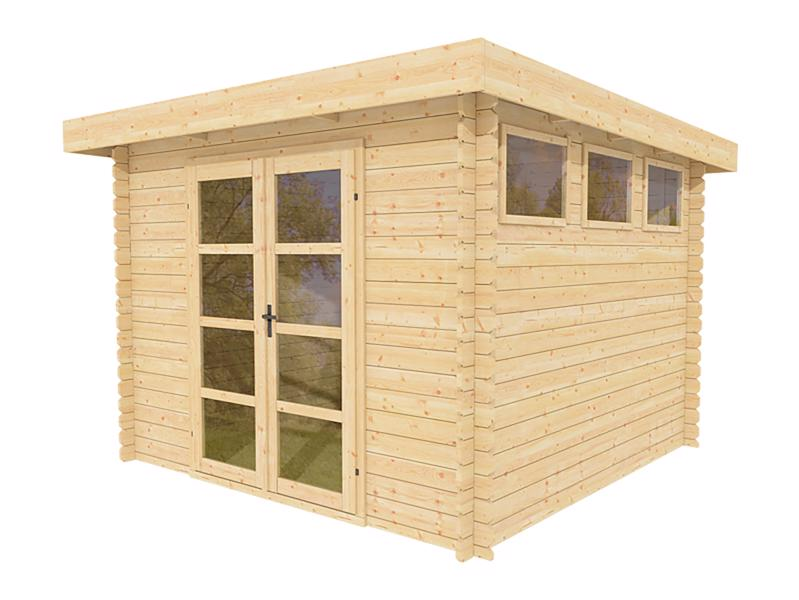 Outdoor wood prefab garden she shed kit