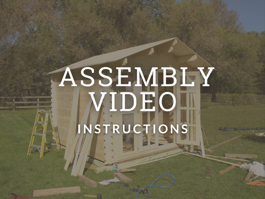 Garden Shed Assembly Video Library