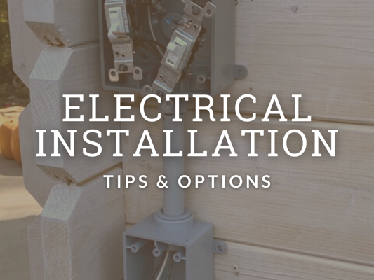 Garden Shed Electrical Installation